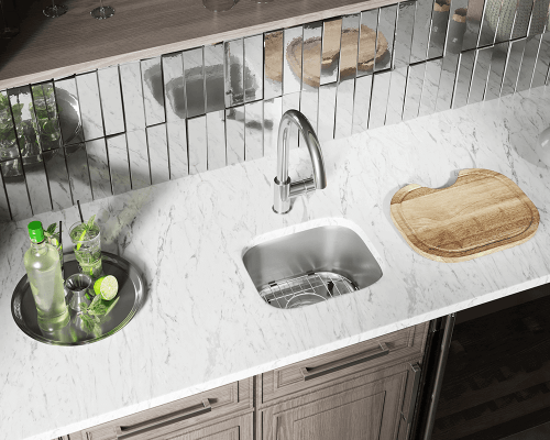 The M15 Stainless Steel Undermount Bar Sink Makes A Great Addition To Your Small Kitchen Or Area Constructed From 304 Grade
